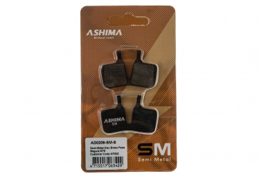 ashima paire de plaquettes magura mt5 semi metalliques