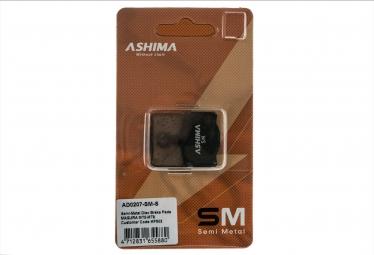 ashima paire de plaquettes magura mt2 mt4 mt6 mt8 semi metalliques