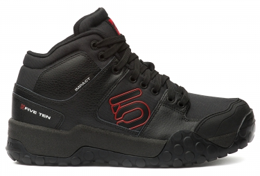 chaussures vtt five ten impact high 2016 noir rouge