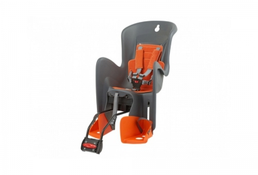 polisport porte bebe arriere bilby ff gris orange