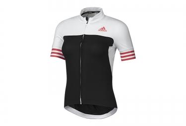 adidas maillot manches courtes adistar cd zero 3 noir blanc rouge femme