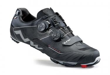 paire de chaussures vtt northwave extreme xc noir