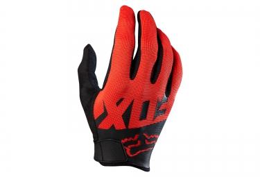 fox gants ranger rouge noir