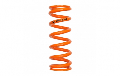 fox racing shox ressort sls super light steel course 3 65 orange