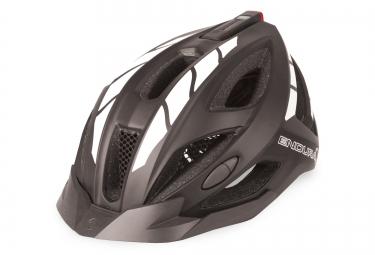 endura casque visibilite rechargeable usb luminite noir