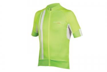maillot manches courtes endura fs260 pro sl ii vert