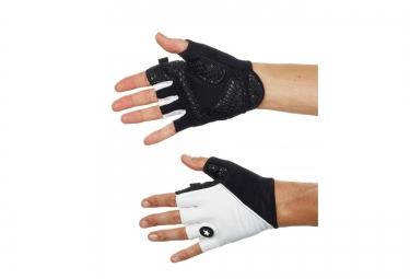 assos paire de gants summer gloves s7 noir blanc