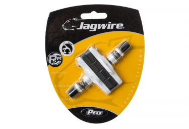 jagwire patins de freins cross pro blanc