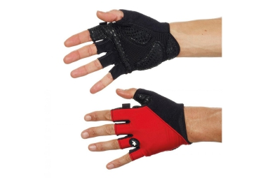 assos paire de gants summer gloves s7 rouge