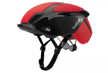 casque bolle the one road premium 2016 rouge carbon
