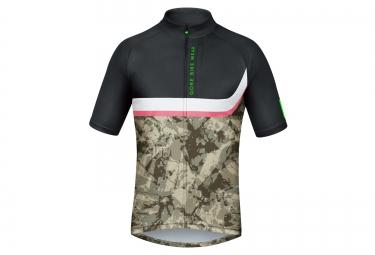 gore bike wear maillot power trail noir camo