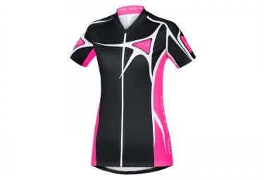 gore bike wear maillot element adrenaline noir rose femme