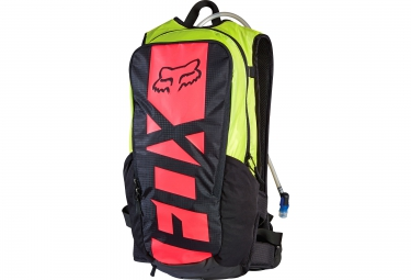 fox sac hydratation large camber race 15l noir jaune rouge