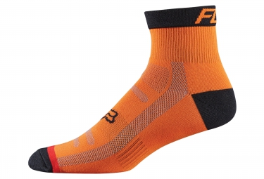 fox paire de chaussettes trail 4 orange