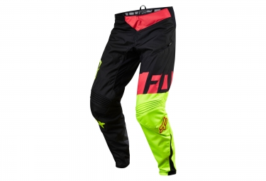 fox pantalon demo dh noir jaune