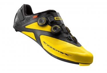 chaussures route mavic cosmic ultimate ii 2016 jaune