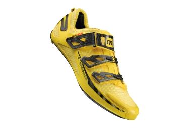 chaussures route mavic huez 2015 jaune