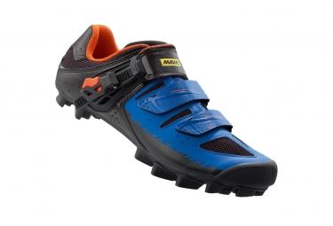 chaussures vtt mavic crossride sl elite 2016 noir bleu