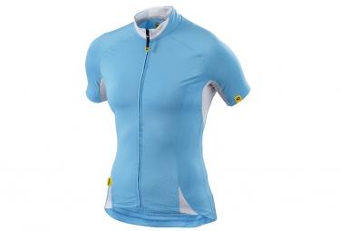 ne pas remettre en ligne mavic 2015 maillot manches courtes cloud femme bleu