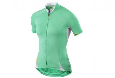 ne pas remettre en ligne mavic maillot manches courtes cloud femme popsicle vert