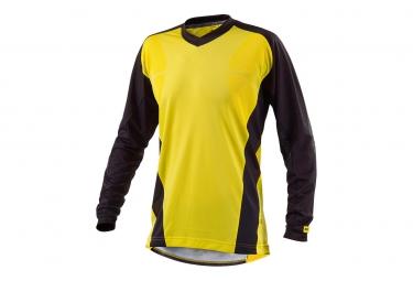 ne pas remettre en ligne mavic maillot manches longues stratos jaune noir