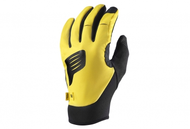 mavic 2015 paire de gants stratos thermo jaune
