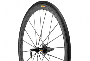 mavic 2015 roue arriere cosmic carbone ultimate version shimano sram boyau yksion pro