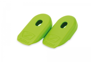 zefal protections de manivelles crank armor vert