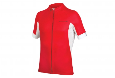 maillot manches courtes endura fs260 pro iii rouge