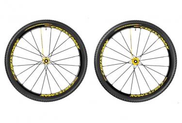 mavic 2016 paire de roues crossmax sl pro ltd wts 27 5 axes 15x100mm 9x100mm av 142x