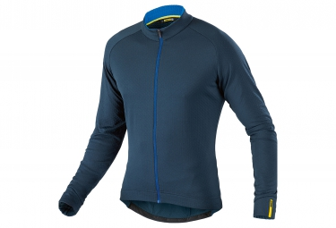 mavic 2016 maillot manches longues aksium thermo bleu