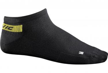 mavic 2016 paire de chaussettes basse cosmic noir