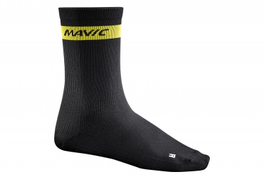 mavic 2016 paire de chaussettes haute cosmic noir