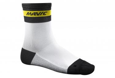 mavic 2016 paire de chaussettes ksyrium carbon blanc
