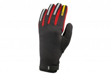 mavic 2016 paire de gants aksium thermo noir rouge