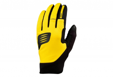 mavic paire de gants crossmax thermo jaune