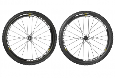 mavic 2016 paire de roues crossride light wts 27 5 axes 15x100mm av 142x12mm ar corp