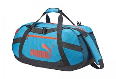 puma sac de sport active duffle taille s bleu rouge noir
