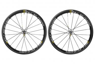 mavic 2016 paire de roues ksyrium pro disc 6tr campagnolo pneus yksion pro 25mm