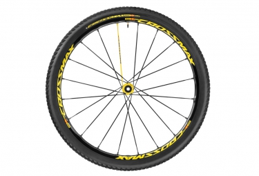 mavic 2016 roue avant crossmax sl pro ltd 27 5 axe lefty supermax pneu crossmax puls