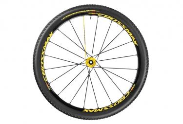 mavic 2016 crossmax sl pro ltd roue arriere 27 5 6tr 10x135mm pneu crossmax pulse 2