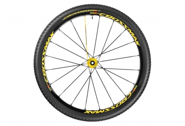 mavic 2016 crossmax sl pro ltd roue arriere 29 6tr 10x135mm pneu crossmax pulse 2 10