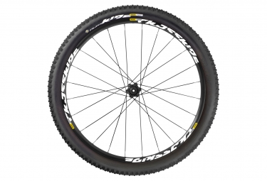 mavic 2016 roue arriere crossride ust 29 axe 142x12mm pneu quest 2 35