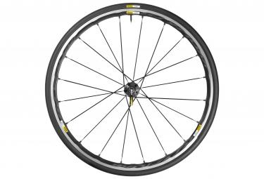 mavic 2016 roue arriere ksyrium elite noir pneu yksion pro 25mm