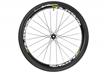 mavic 2016 roue avant crossride ust 27 5 wts axe 15x100mm pneu pulse 2 10