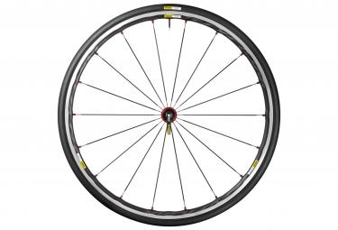 mavic 2016 roue avant ksyrium elite rouge pneu yksion pro 25mm