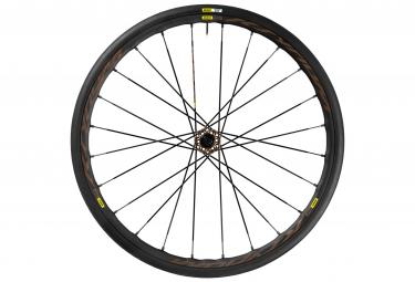 mavic 2016 roue avant ksyrium pro disc allroad 6tr pneu yksion elite
