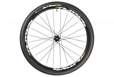 mavic 2016 roue arriere crossride ust wts 27 5 noir axe 142x12mm corps de roue libre