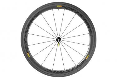 mavic 2016 roue avant cosmic carbone 40 boyau yksion pro