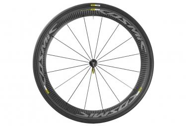mavic 2016 roue avant cosmic carbone pro exalith pneu yksion pro 23mm